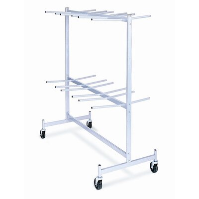 """Raymond Products 84"""" x 31.63"""" x 63"""" Hanging Folded Chair Storage Truck"""