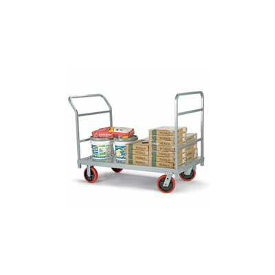 """Raymond Products 38"""" x 30"""" x 54"""" Heavy Duty Truck and Quiet Poly Casters Platform Dolly"""