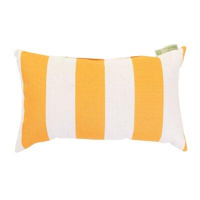 Vertical Stripe Indoor/Outdoor Lumbar Pillow by Majestic Home Goods