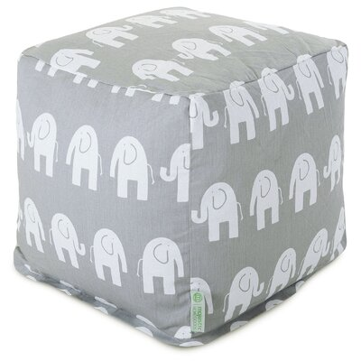 Ellie Small Cube Ottoman by Majestic Home Goods