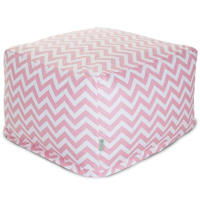 Chevron Large Ottoman by Majestic Home Goods