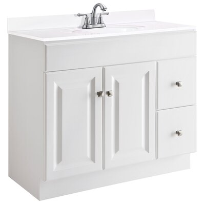 "Wyndham 36"" Single Bathroom Vanity Product Photo"