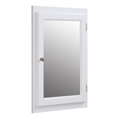 "Concord 18"" x 26"" Corner Mount Medicine Cabinet Product Photo"