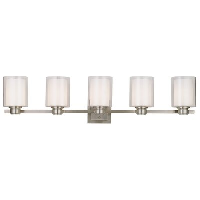 Oslo 5 Light Bath Vanity Light Product Photo