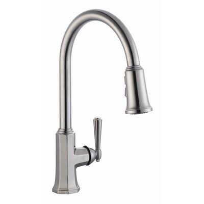 Barcelona Single Handle Kitchen Faucet with Pullout Sprayer Product Photo
