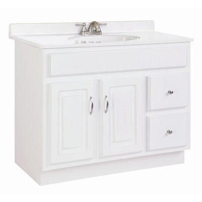"Design House Concord 36"" Double Door Vanity Base"