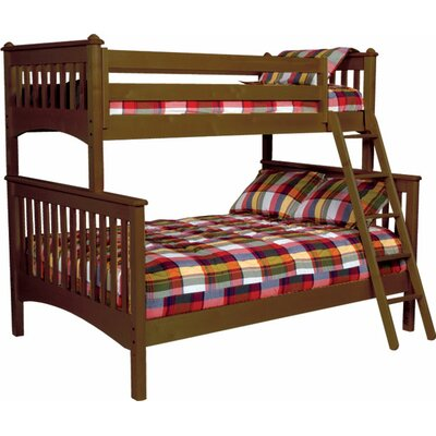 Mission Twin Over Full Bunk Bed by Bolton Furniture