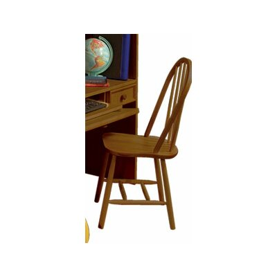 Mission Traditional Bow Back Desk Chair by Bolton Furniture