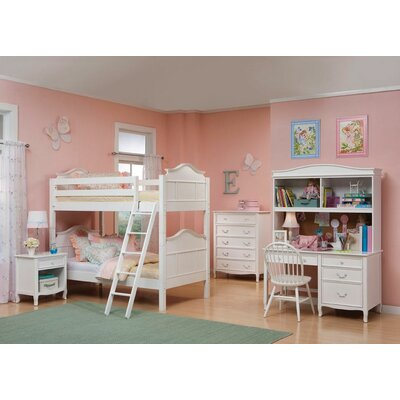 Bolton Furniture Lyndon Twin Over Twin Bunk Bed