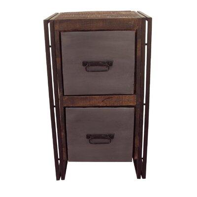 2-Drawer Filing Cabinet by MOTI Furniture