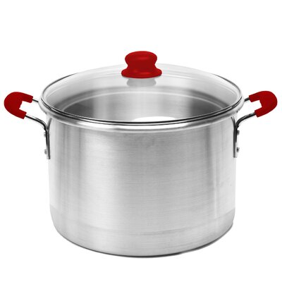GlobalKitchen 12 Qt. Stock Pot with Lid by IMUSA