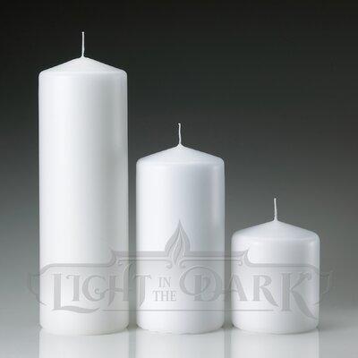 Light In the Dark Pillar Candles