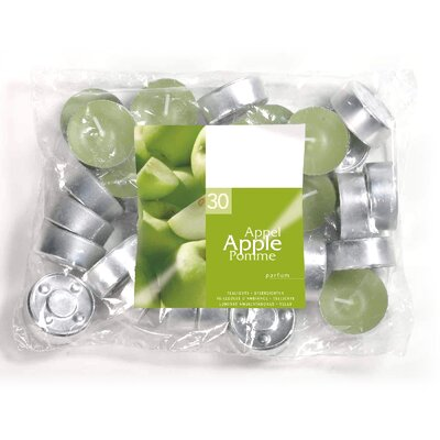 Light In the Dark Apple Scented Tea light Candles