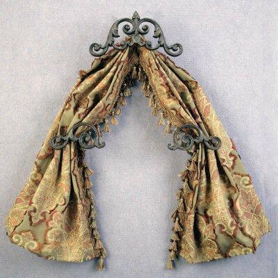 "Menagerie Casa Artistica Scroll 13"" Curtain Valance"