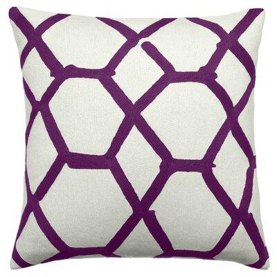 Judy Ross Textiles Jalli Wool Throw Pillow