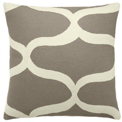 Judy Ross Textiles Wave Wool Throw Pillow