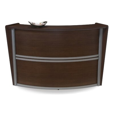 OFM Marque Series Single Unit Curved Reception Station
