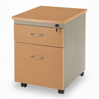 OFM 2-Drawer Mobile File Pedestal
