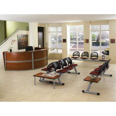 OFM Reception Furniture Triple Unit Curved
