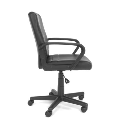OFM Essentials Mid-Back Leather Executive Chair