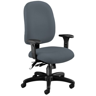OFM Ergonomic Mid-Back Task Chair with Arms