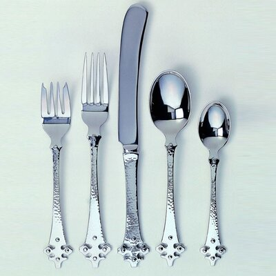 Celtic Crusader 5 Piece Flatware Set by Ginkgo