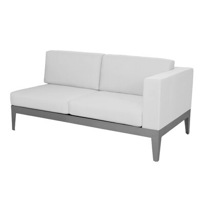 South Beach Right Arm Loveseat Sectioanl Piece with Cushions by Source Outdoor