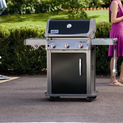 weber spirit e 320 lp gas grill reviews wayfair. Black Bedroom Furniture Sets. Home Design Ideas