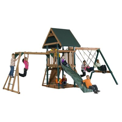 Mongoose Manor Deluxe Swing Set Product Photo