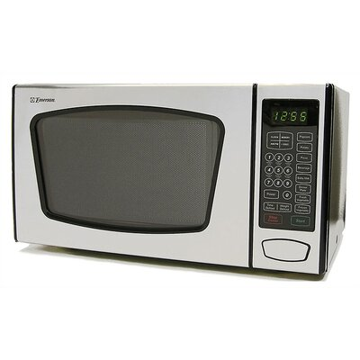 0.9 Cu. Ft. 900W Countertop Microwave in Stainless Steel Product Photo