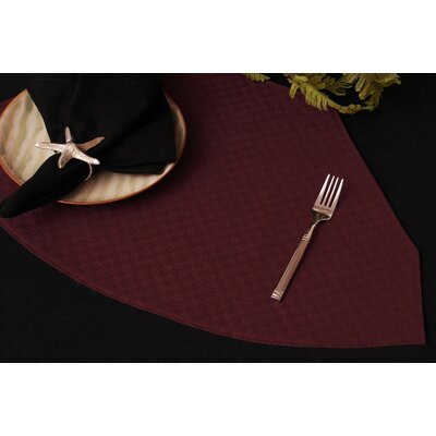 Wicker Table Linens Reversible Wedge Placemat by Pacific Table Linens