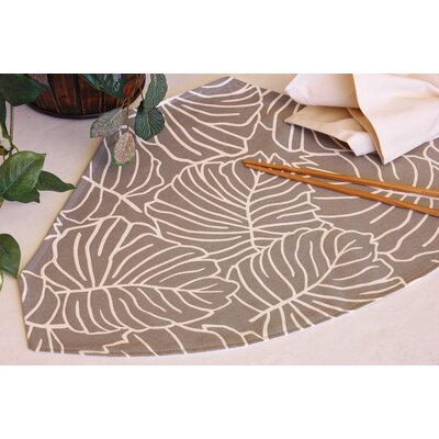 Tropical Table Linens Reversible Wedge Placemat by Pacific Table Linens