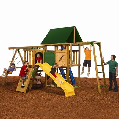 Playstar Inc. Legend Silver Swing Set