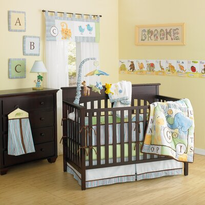 ABC Animal Friends 10 Piece Crib Bedding Set by Laugh, Giggle & Smile