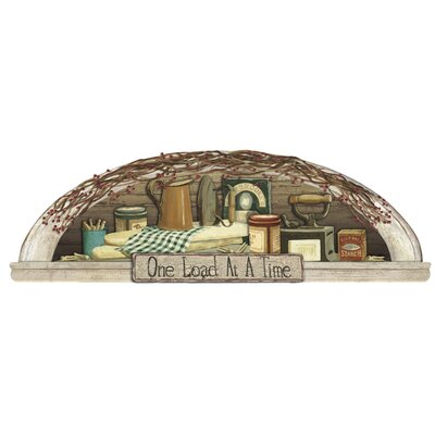 York Wallcoverings Mural Portfolio II Laundry Arch Wood Framed Accent Wall Mural