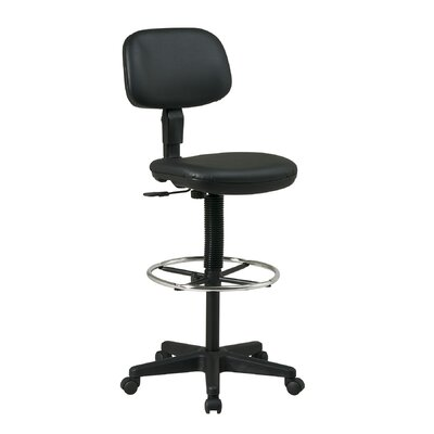 Office Star Height Adjustable Drafting Chair Reviews Wayfair Supply