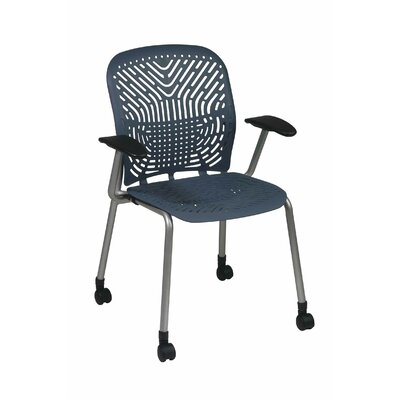 Office Star Products Space Seating Deluxe SpaceFlex Raven Guest Chair