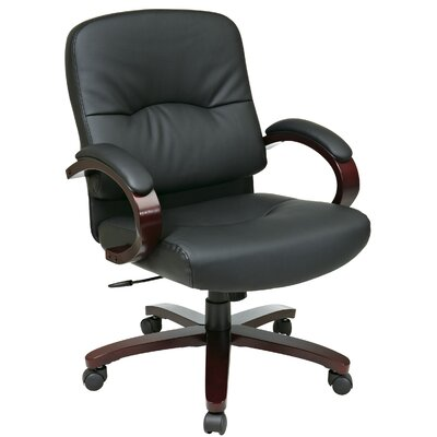 Office Star Products Mid-Back Conference Chair with Arms