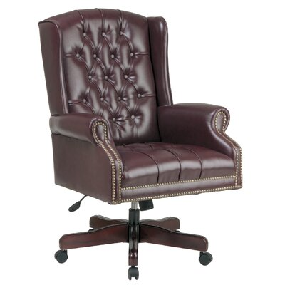 Office Star Products Deluxe High-Back Executive Managerial Chair with Arms