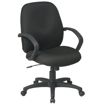 Office Star Products Executive Mid-Back Managerial Chair