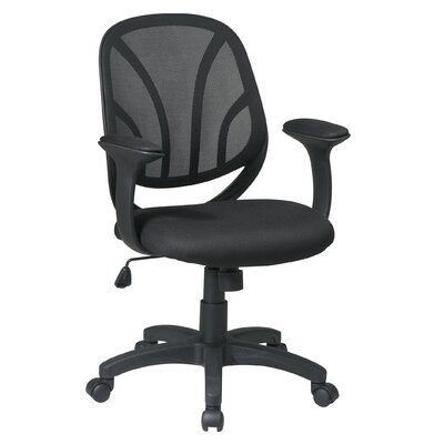 Office Star Products Work Smart Mid-Back Managerial Chair