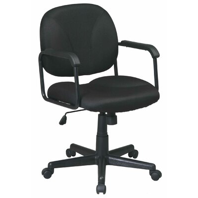 Office Star Products Fabric Seat and Back Work Smart Managerial Chair