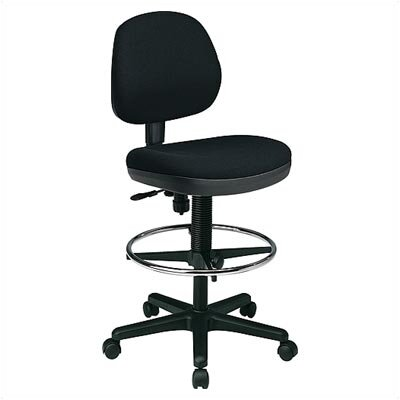 Office Star Products Height Adjustable Drafting Chair with Flex Back