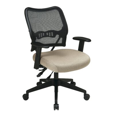 Office Star Products AirGrid Back and Fabric Seat Space Seating Deluxe Conference Chair