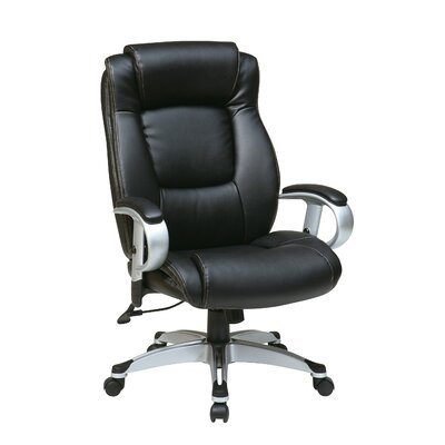 Office Star Products Eco Leather Executive Chair