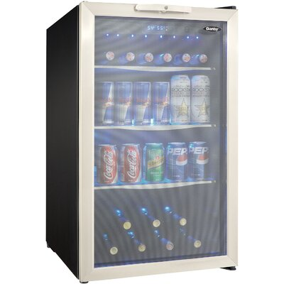 7 Bottle Single Zone Freestanding Wine Refrigerator by Danby