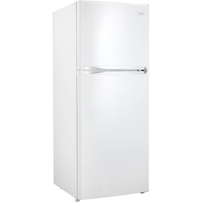 12.3 cu. ft. Top Freezer Refrigerator in White with LED Lighting Product Photo