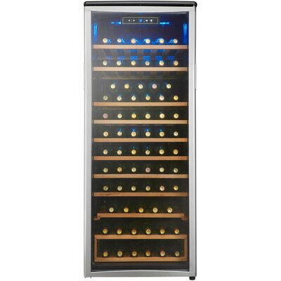 75 Bottle Single Zone Freestanding Wine Refrigerator by Danby