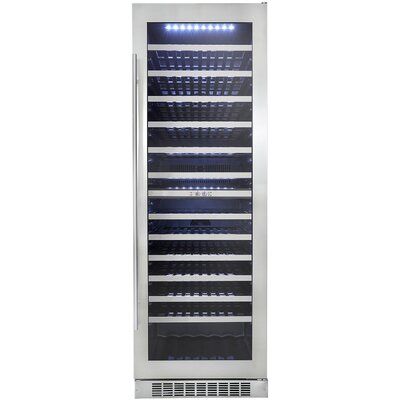 Professional 129 Bottle Dual Zone Built-In Wine Refrigerator by Danby