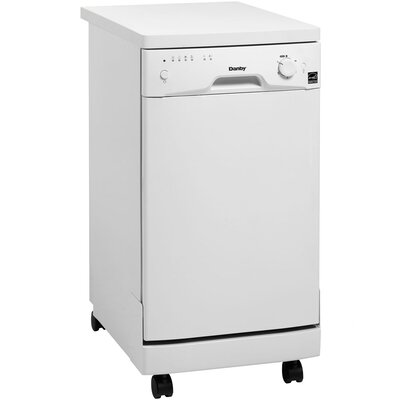 "18"" Portable Dishwasher in White Energy Star Certified Product Photo"